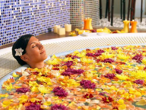 Baño aromático