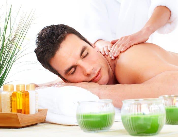 Via tópica o masaje