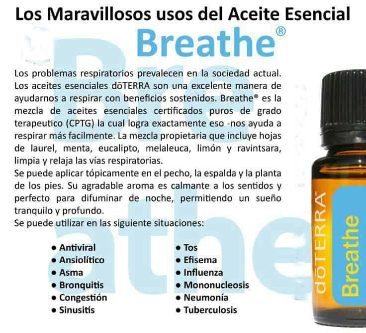 Aceite esencial Breathe