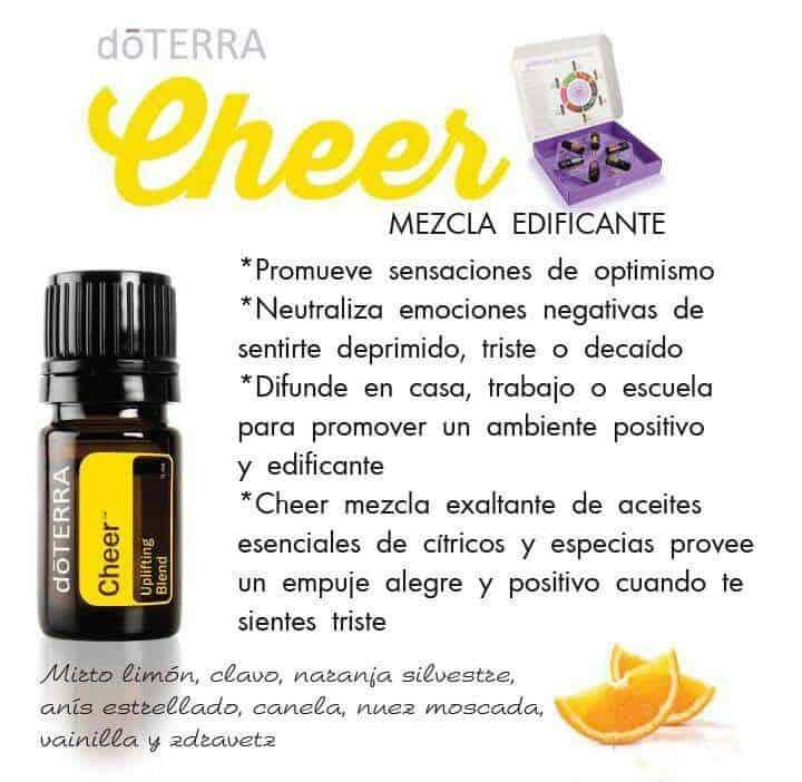 Mezcla de aceites Cheer