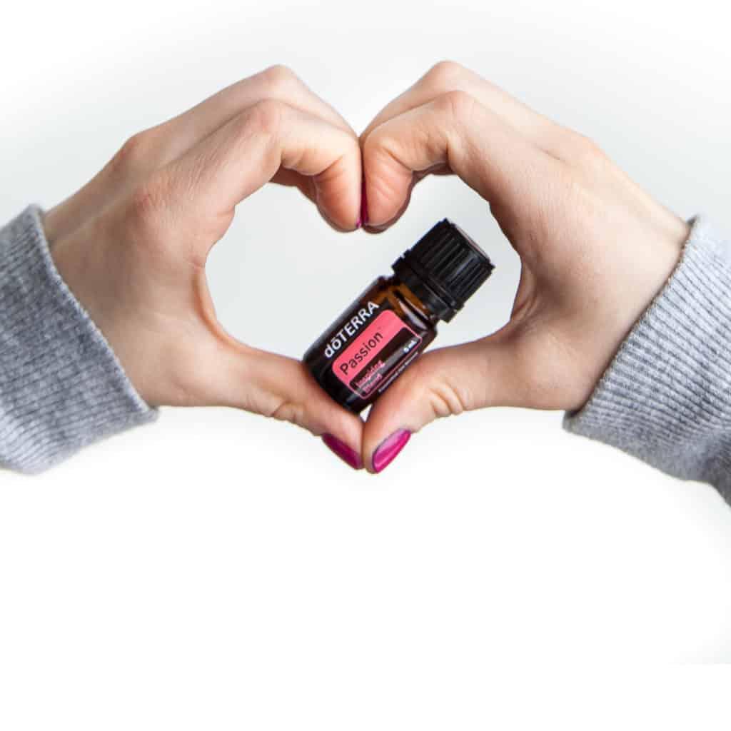 Passion mezcla de aceites esenciales