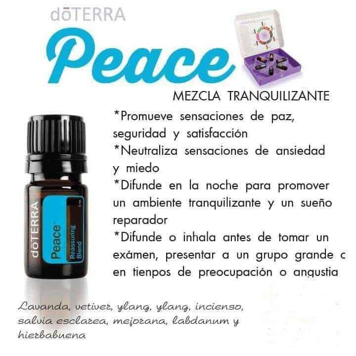 Peace mezcla de aceites esenciales